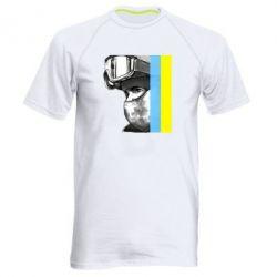 Мужская спортивная футболка Солдат ато