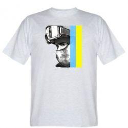 Мужская футболка Солдат ато