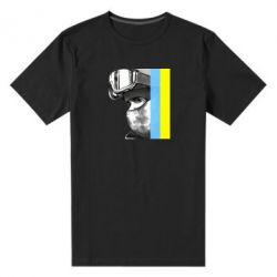 Мужская стрейчевая футболка Солдат ато