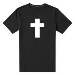 Чоловіча стрейчева футболка Solid cross