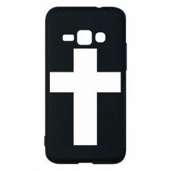 Чохол для Samsung J1 2016 Solid cross