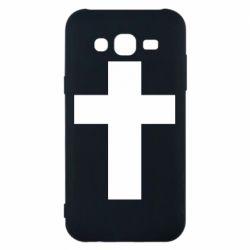 Чохол для Samsung J5 2015 Solid cross