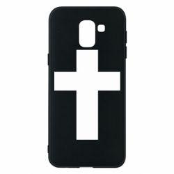 Чохол для Samsung J6 Solid cross