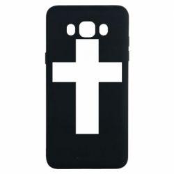 Чохол для Samsung J7 2016 Solid cross
