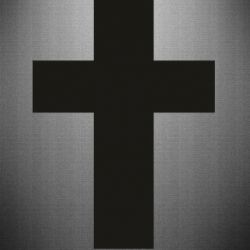 Наклейка Solid cross