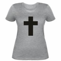 Жіноча футболка Solid cross
