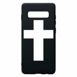 Чохол для Samsung S10+ Solid cross