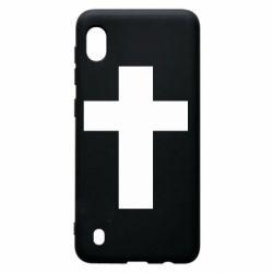 Чохол для Samsung A10 Solid cross