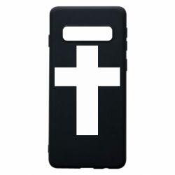 Чохол для Samsung S10 Solid cross