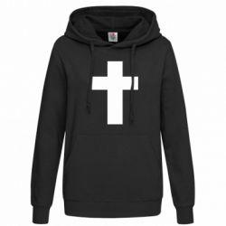 Толстовка жіноча Solid cross