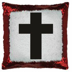 Подушка-хамелеон Solid cross