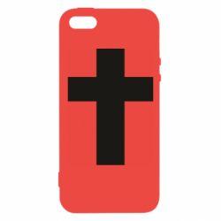 Чохол для iphone 5/5S/SE Solid cross