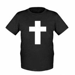Дитяча футболка Solid cross