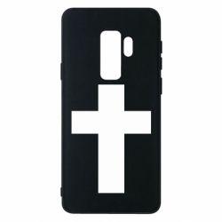 Чохол для Samsung S9+ Solid cross