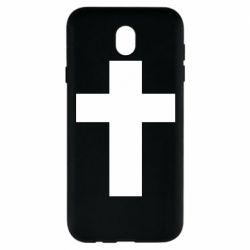 Чохол для Samsung J7 2017 Solid cross