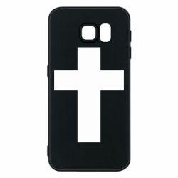 Чохол для Samsung S6 Solid cross