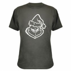 Камуфляжна футболка Сolor Grinch