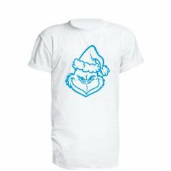 Подовжена футболка Сolor Grinch
