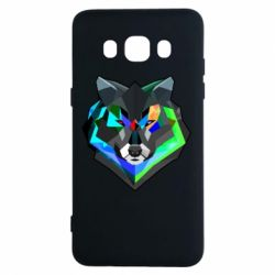 Чехол для Samsung J5 2016 Сolorful wolf