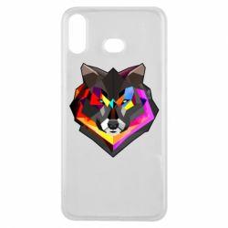 Чехол для Samsung A6s Сolorful wolf