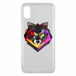 Чехол для Xiaomi Mi8 Pro Сolorful wolf