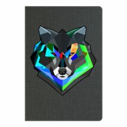 Блокнот А5 Сolorful wolf