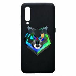 Чехол для Xiaomi Mi9 Сolorful wolf
