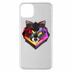 Чехол для iPhone 11 Pro Max Сolorful wolf