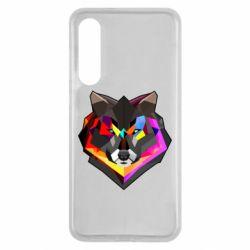 Чехол для Xiaomi Mi9 SE Сolorful wolf
