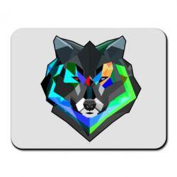 Коврик для мыши Сolorful wolf - FatLine