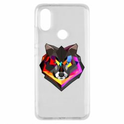 Чехол для Xiaomi Mi A2 Сolorful wolf