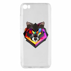 Чехол для Xiaomi Mi5/Mi5 Pro Сolorful wolf