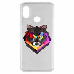 Чехол для Xiaomi Mi8 Сolorful wolf