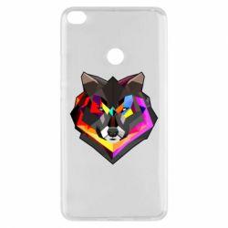 Чехол для Xiaomi Mi Max 2 Сolorful wolf