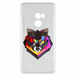 Чехол для Xiaomi Mi Mix 2 Сolorful wolf
