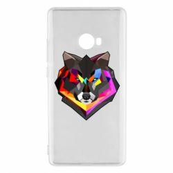 Чехол для Xiaomi Mi Note 2 Сolorful wolf