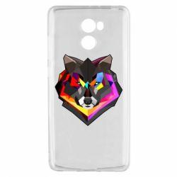 Чехол для Xiaomi Redmi 4 Сolorful wolf
