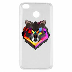 Чехол для Xiaomi Redmi 4x Сolorful wolf