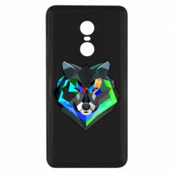 Чехол для Xiaomi Redmi Note 4x Сolorful wolf