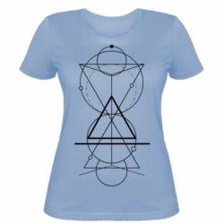 Жіноча футболка Сomposition of geometric shapes
