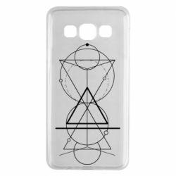 Чохол для Samsung A3 2015 Сomposition of geometric shapes