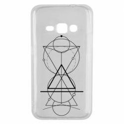 Чохол для Samsung J1 2016 Сomposition of geometric shapes