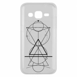 Чохол для Samsung J2 2015 Сomposition of geometric shapes