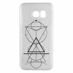 Чохол для Samsung S6 EDGE Сomposition of geometric shapes