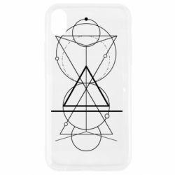 Чохол для iPhone XR Сomposition of geometric shapes