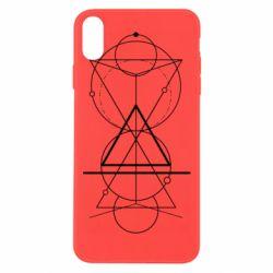 Чохол для iPhone Xs Max Сomposition of geometric shapes