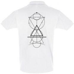 Футболка Поло Сomposition of geometric shapes