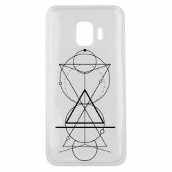 Чохол для Samsung J2 Core Сomposition of geometric shapes
