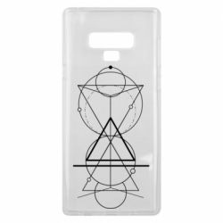 Чохол для Samsung Note 9 Сomposition of geometric shapes