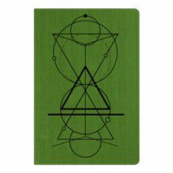 Блокнот А5 Сomposition of geometric shapes
